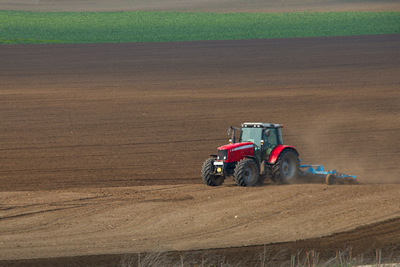 Land Application of Biosolids on farm field